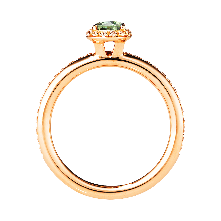 Bague Romance in Or rose
