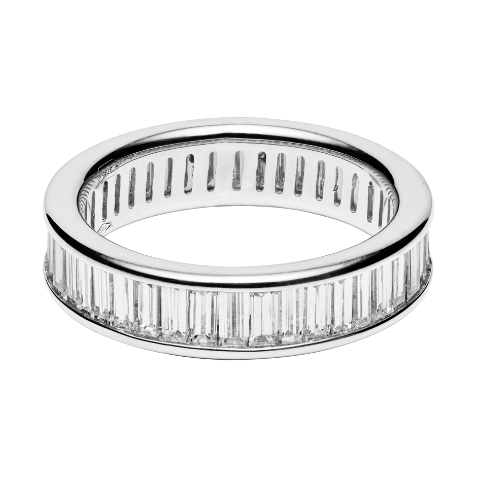 Eternity Ring Florence in White Gold