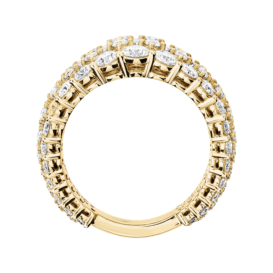 Eternity Ring Guernsey in Yellow Gold