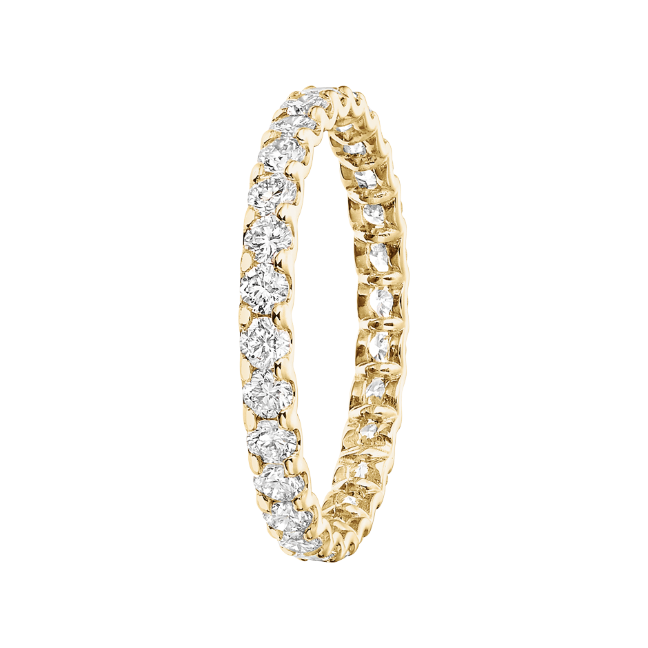 Eternity Ring Hamburg G VS in Yellow Gold