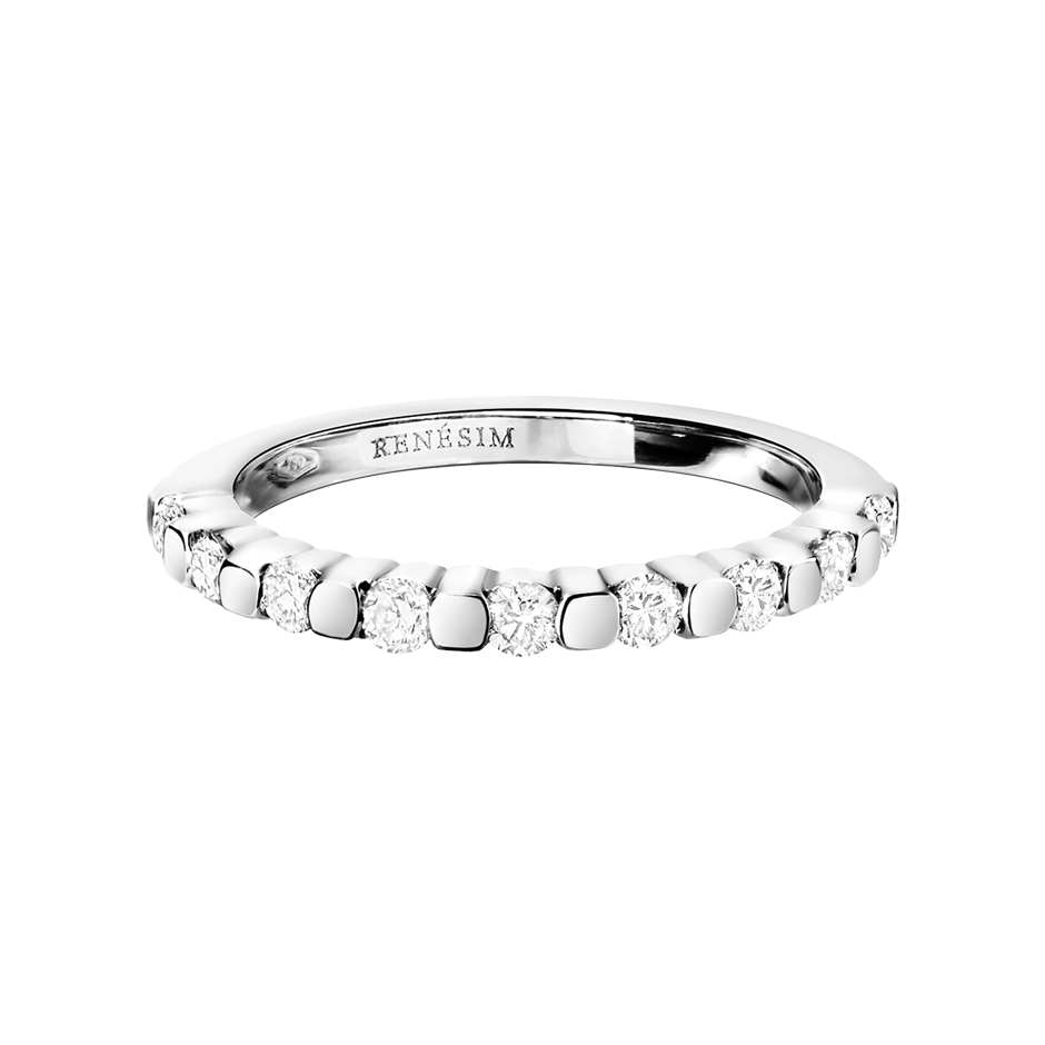 Eternity Ring Knokke G VS in White Gold