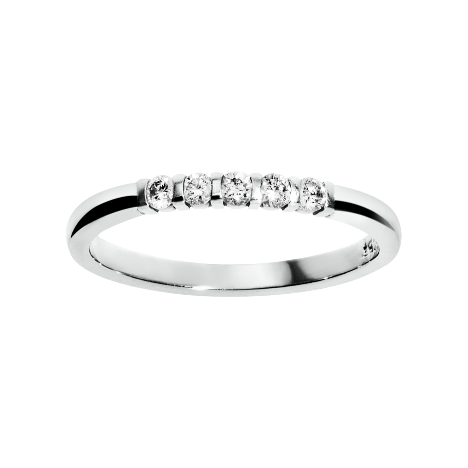 Eternity Ring Rotterdam G VS in White Gold