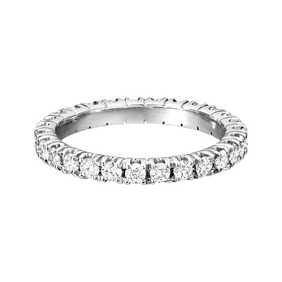 Eternity Ring Stockholm G VS in Platinum
