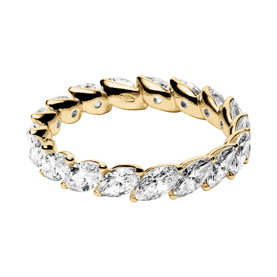Eternity Ring Venice in Yellow Gold