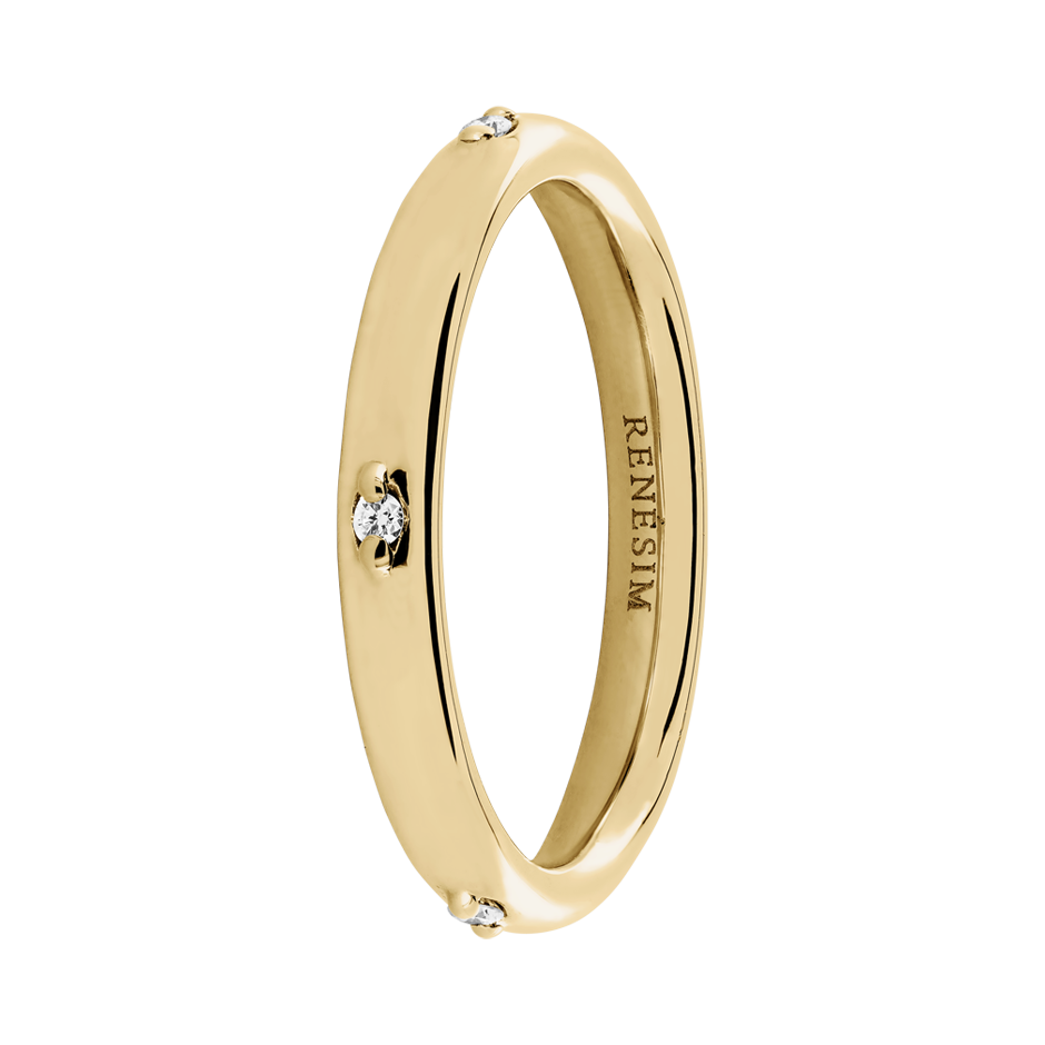 Memoire Ring Capri in Gelbgold