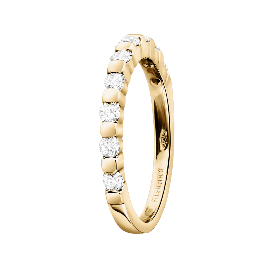 Memoire Ring Knokke H SI in Gelbgold