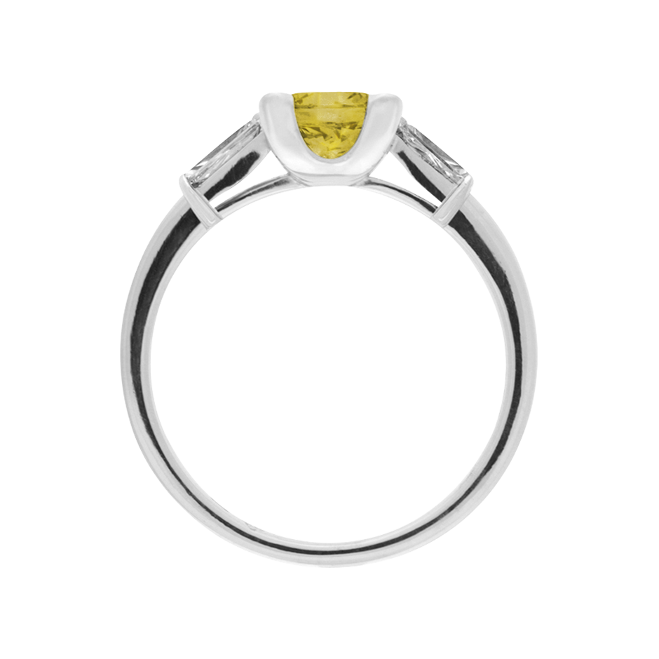 Paris Sapphire yellow in White Gold